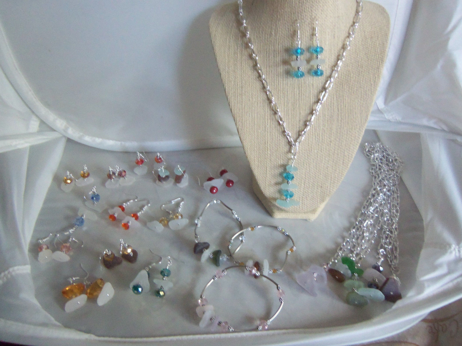 Seaglass Jewelry Assortment Grab Bag
